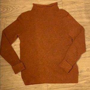 Burnt orange Madewell Sweater